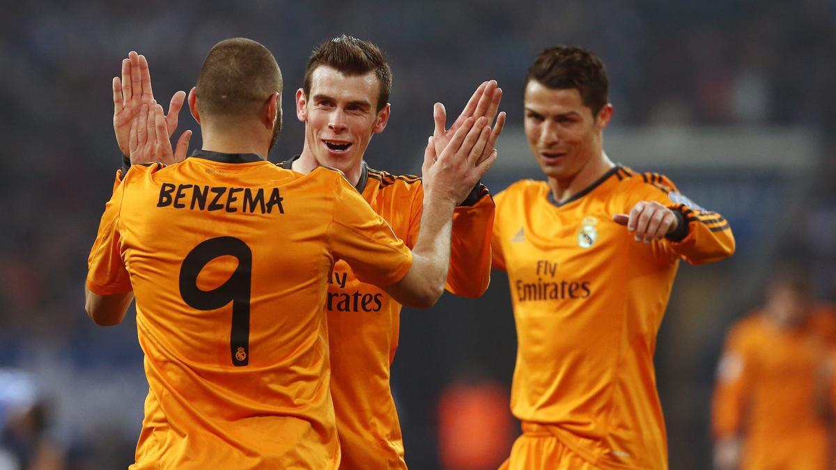 Karim Benzema - Cristiano Ronaldo - Gareth Bale, Real Madrid