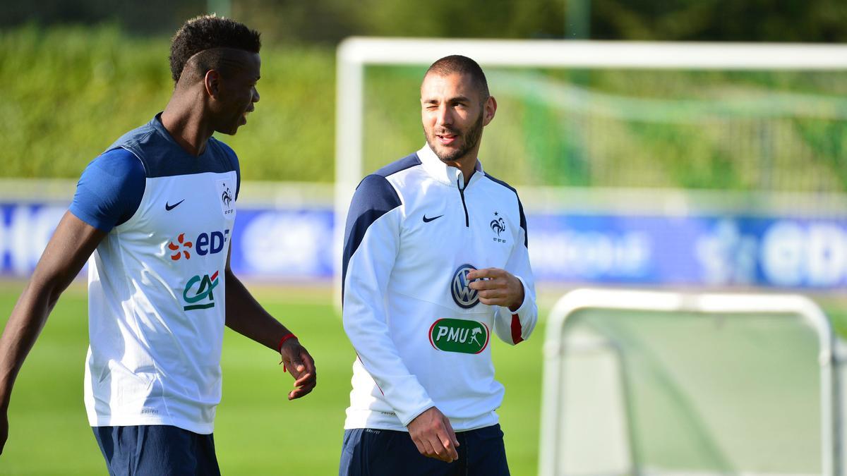 Paul Pogba - Karim Benzema, équipe de France