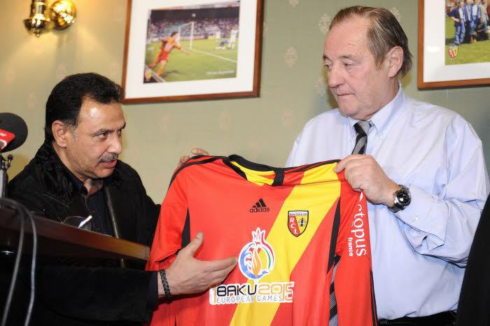 Hafiz Mammadov et Gervais Martel, RC Lens