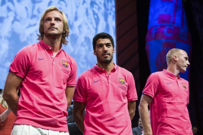 Rakitic, Suarez, Mathieu, Barça