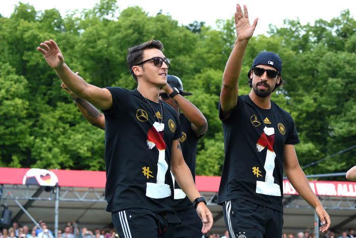 Khedira et Ozil