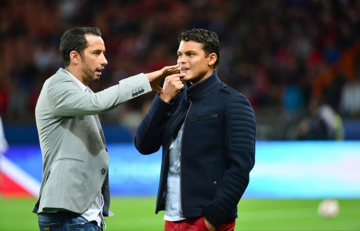 Thiago Silva et Nene