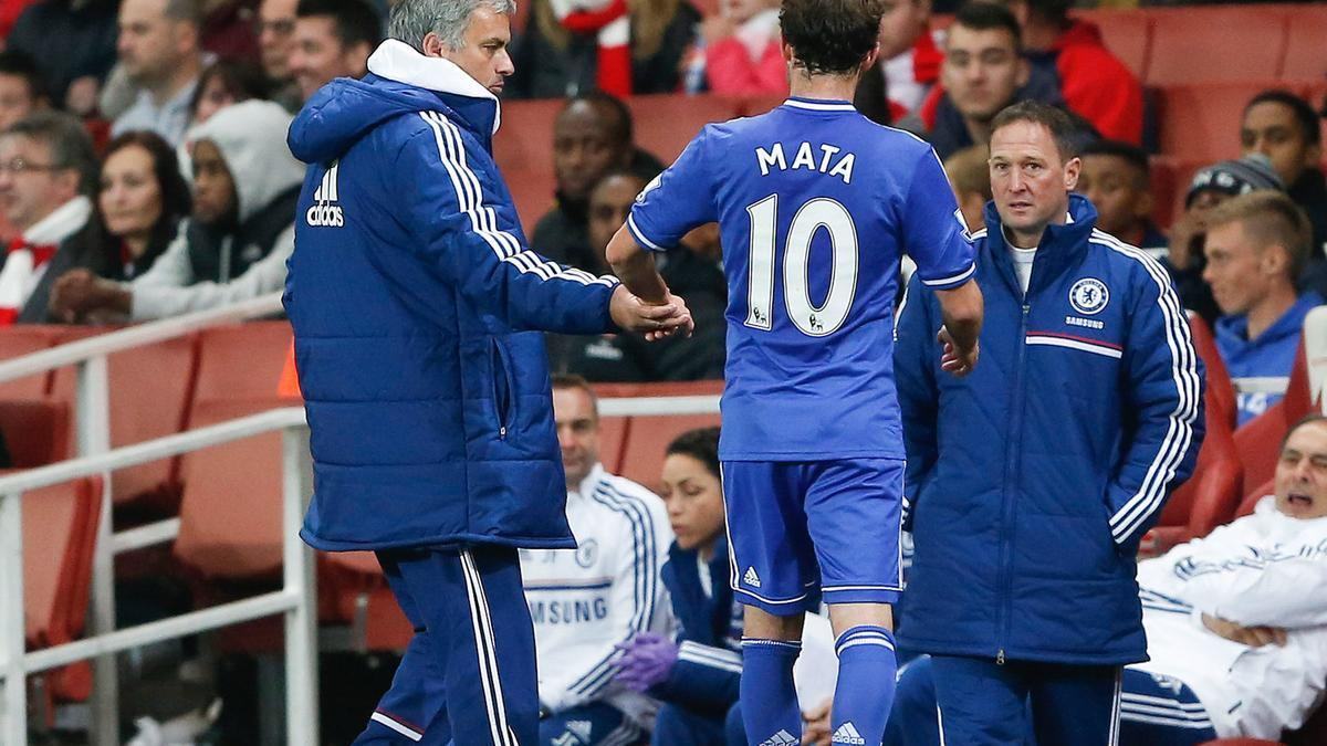 José Mourinho & Juan Mata