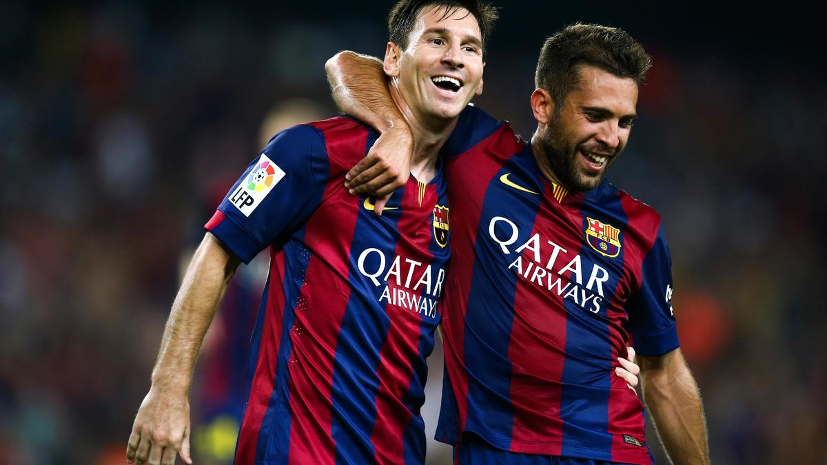 Lionel Messi et Jordi Alba, FC Barcelone