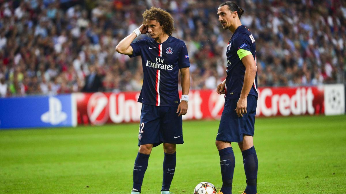 David Luiz & Zlatan Ibrahimovic, PSG