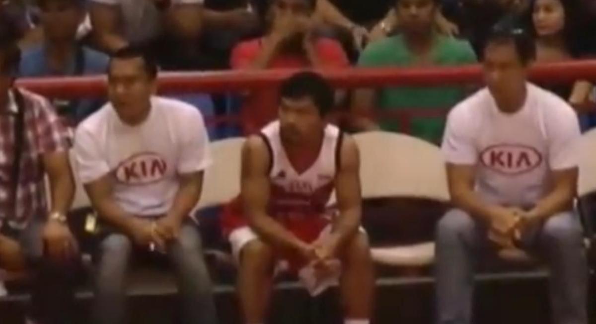 Basket : Les premières minutes en professionnel de Manny Pacquiao (vidéo)