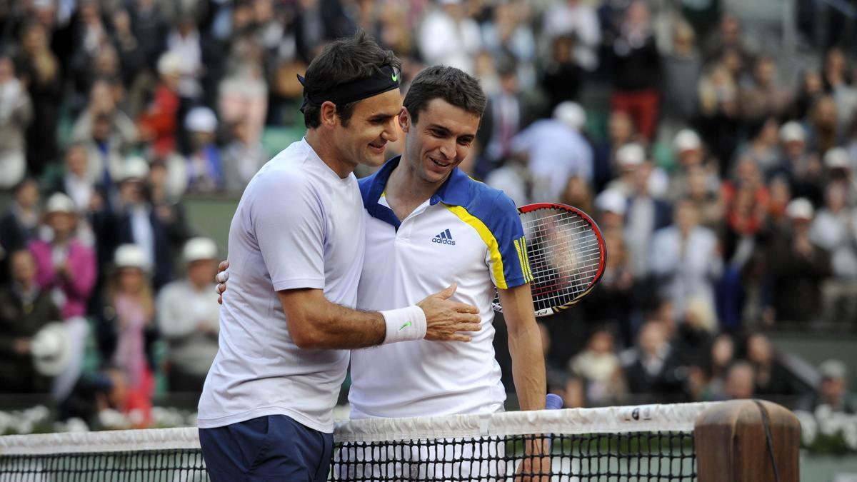 Tennis - Federer : �Gilles Simon ? On le sait, il parle beaucoup�