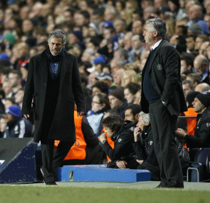 José Mourinho, Carlo Ancelotti