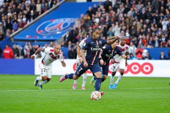 Lucas aime marquer contre Bordeaux