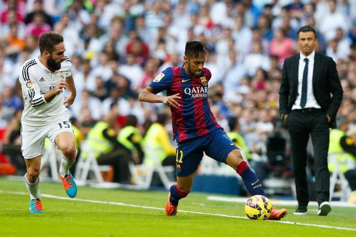 Dani Carvajal, Neymar