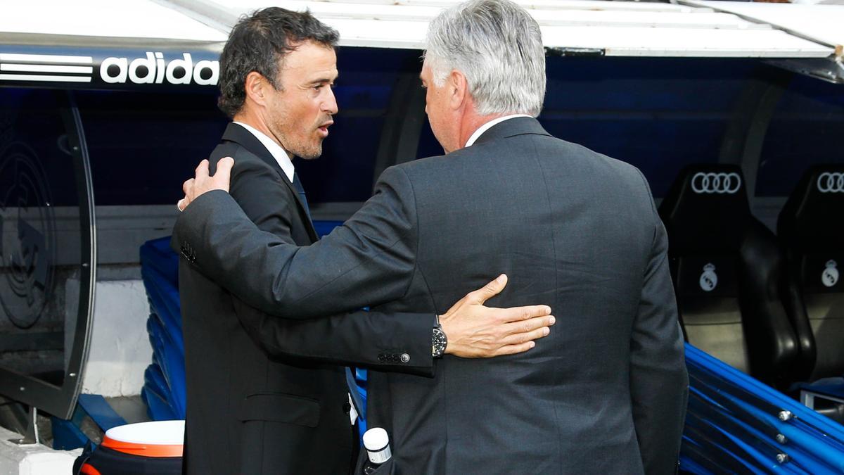Luis Enrique & Carlo Ancelotti