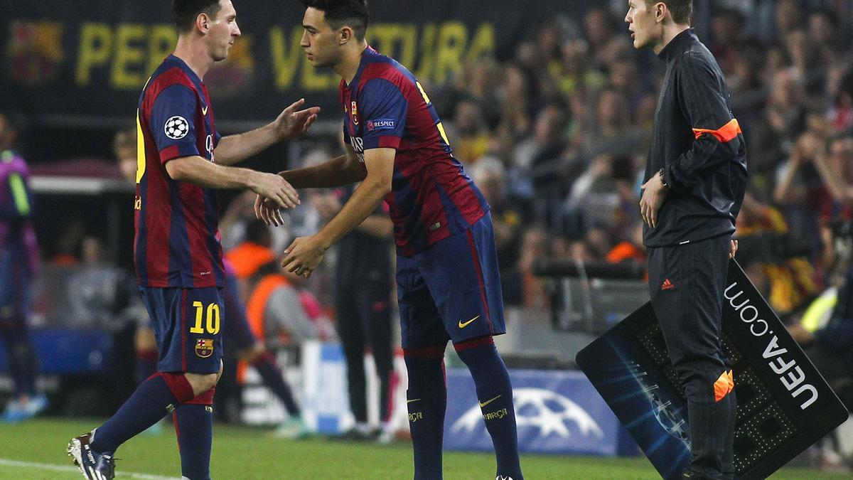 Mercato - Barcelone/PSG/Chelsea : Munir El Haddadi plutôt cédé en Liga ?