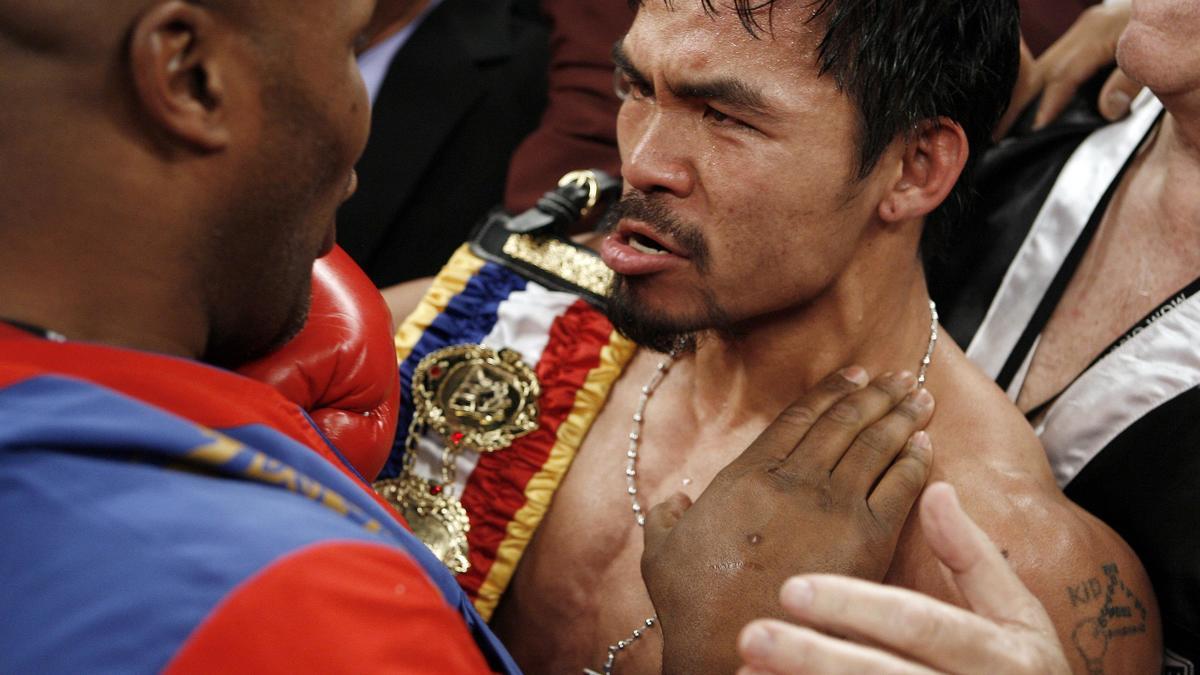 Boxe : Pacquiao met la pression sur Mayweather et lui fixe un rendez-vous !
