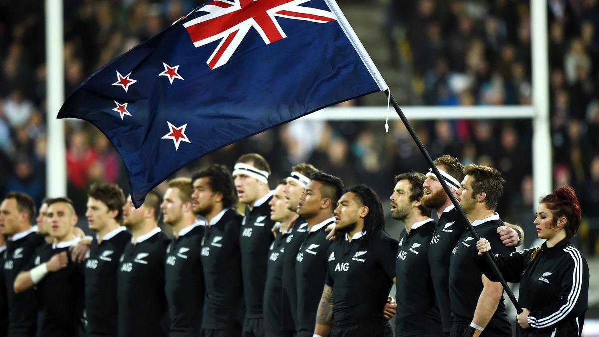 Rugby : Les All Blacks à l'origine d'un changement du drapeau néo-zélandais ?