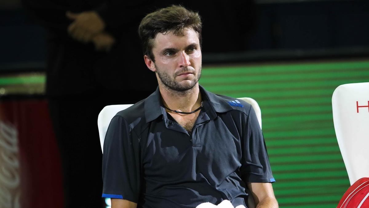 Tennis : La dr�le d'excuse de Gilles Simon pour justifier sa d�faite?