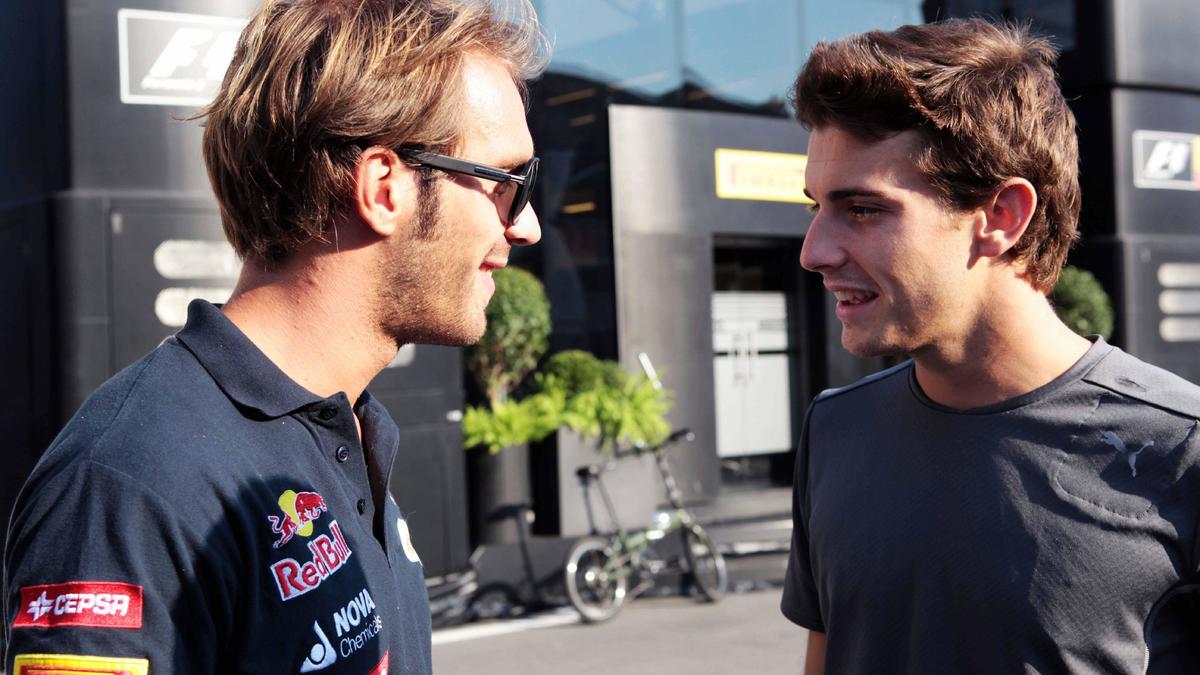 Jules Bianchi et Jean-Eric Vergne