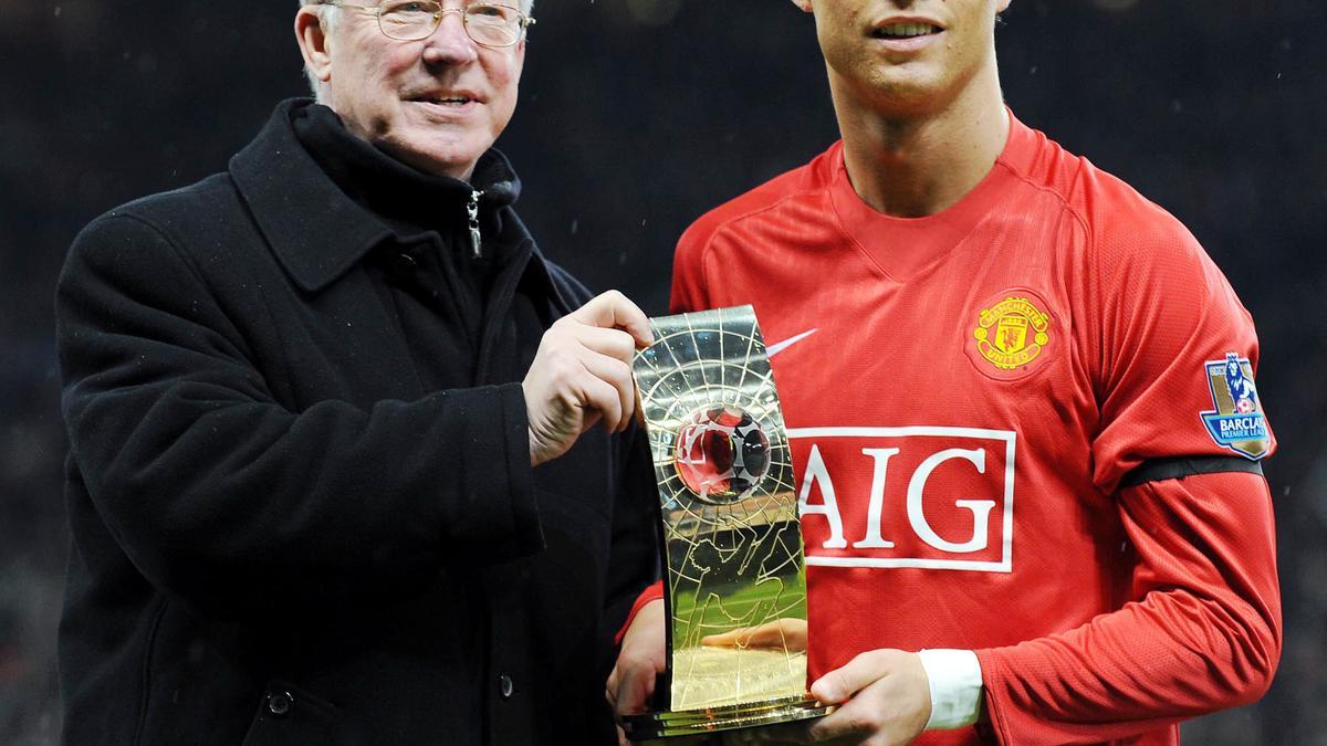Sir Alex Ferguson & Cristiano Ronado