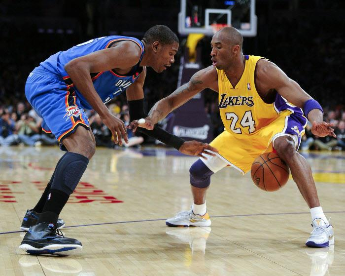 Kevin Durant, Kobe Bryant, NBA