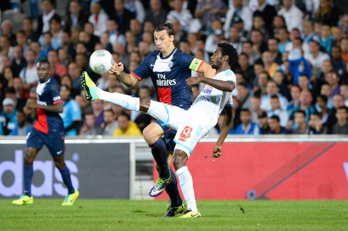 Zlatan Ibrahimovic, Nicolas Nkoulou, PSG