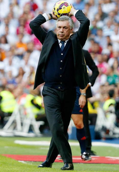 Carlo Ancelotti au Real Madrid