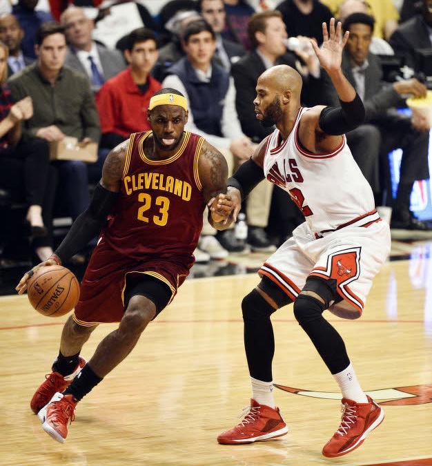 LeBron james à Cleveland