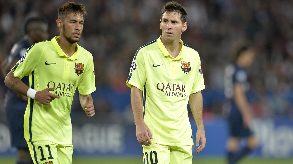 Lionel Messi - Neymar, Barcelone
