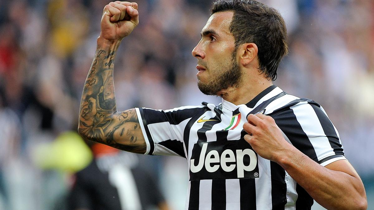 Carlos Tévez, Juventus Turin
