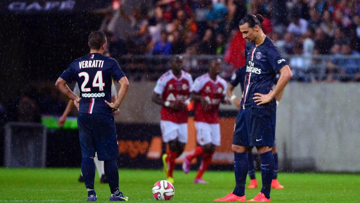 Zlatan Ibrahimovic - Marco Verratti, PSG
