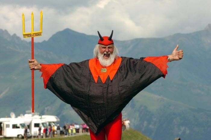 El Diablo, en 2011 sur le Tour de France