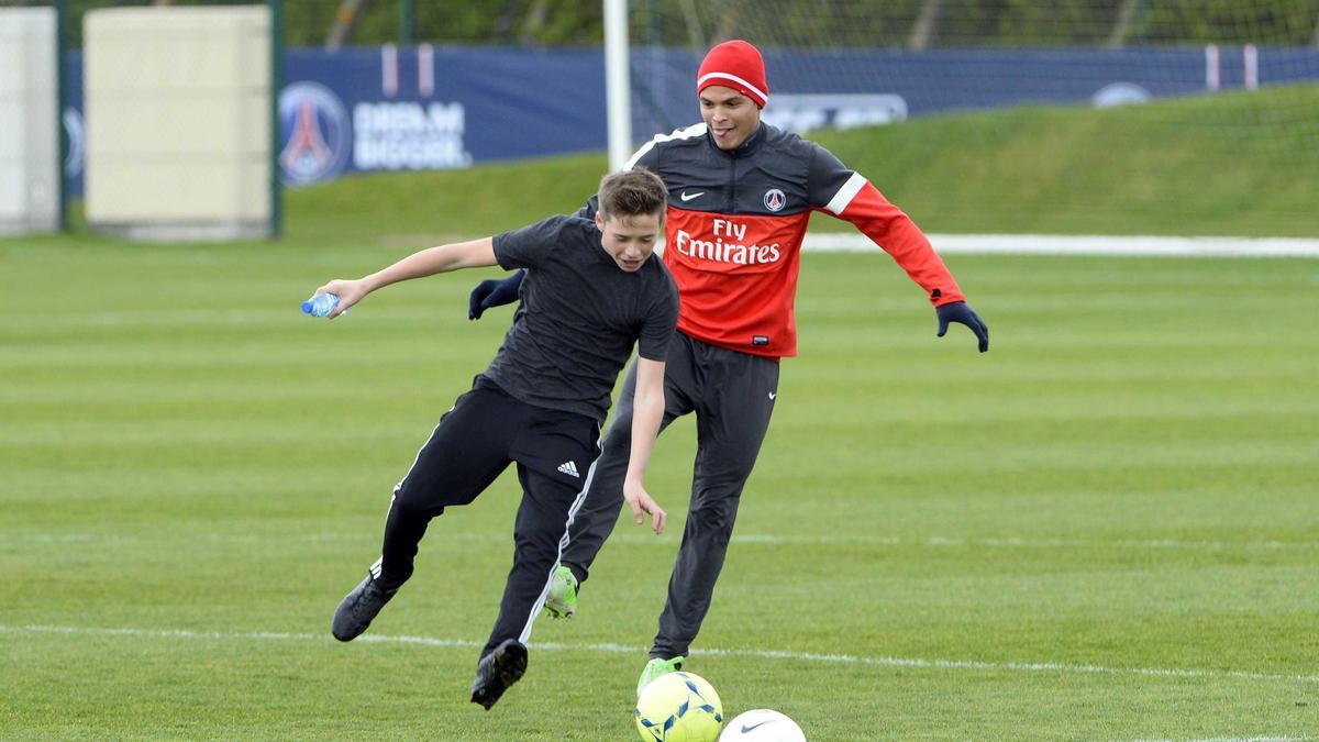 Brooklyn Beckham, Thiago Silva