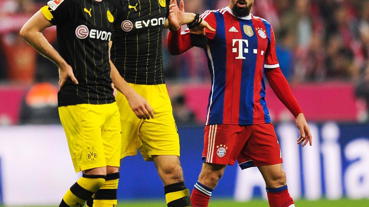 Quand Ribéry annonce la couleur à Marco Reus