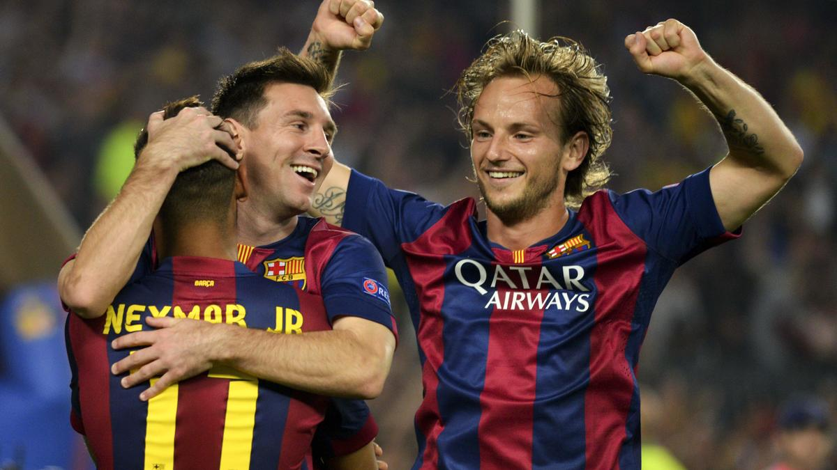 Lionel Messi & Ivan Rakitic, Barcelone