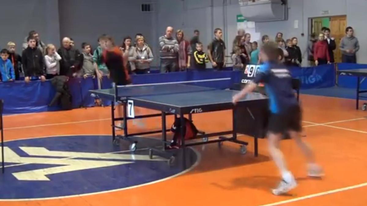 Tennis de table : Il s'en prend à un arbitre !