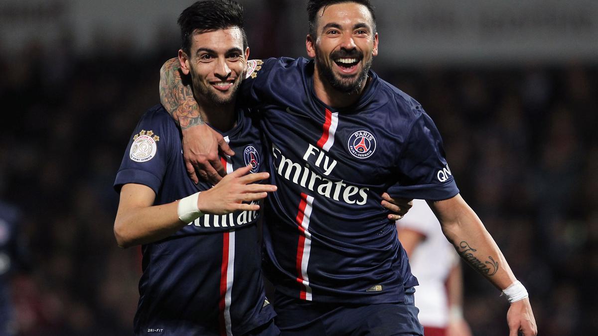 Mercato - PSG : Ces deux clubs qui feraient le forcing pour Lavezzi...