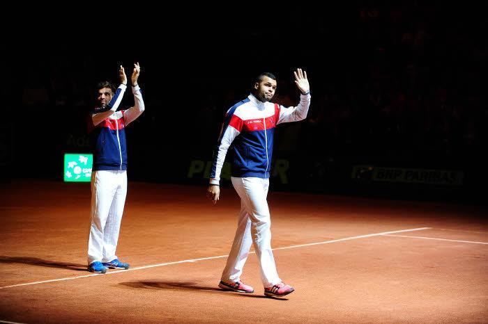 Tennis - Coupe Davis : Blessure, larmes? Les v�rit�s de Tsonga sur son forfait !