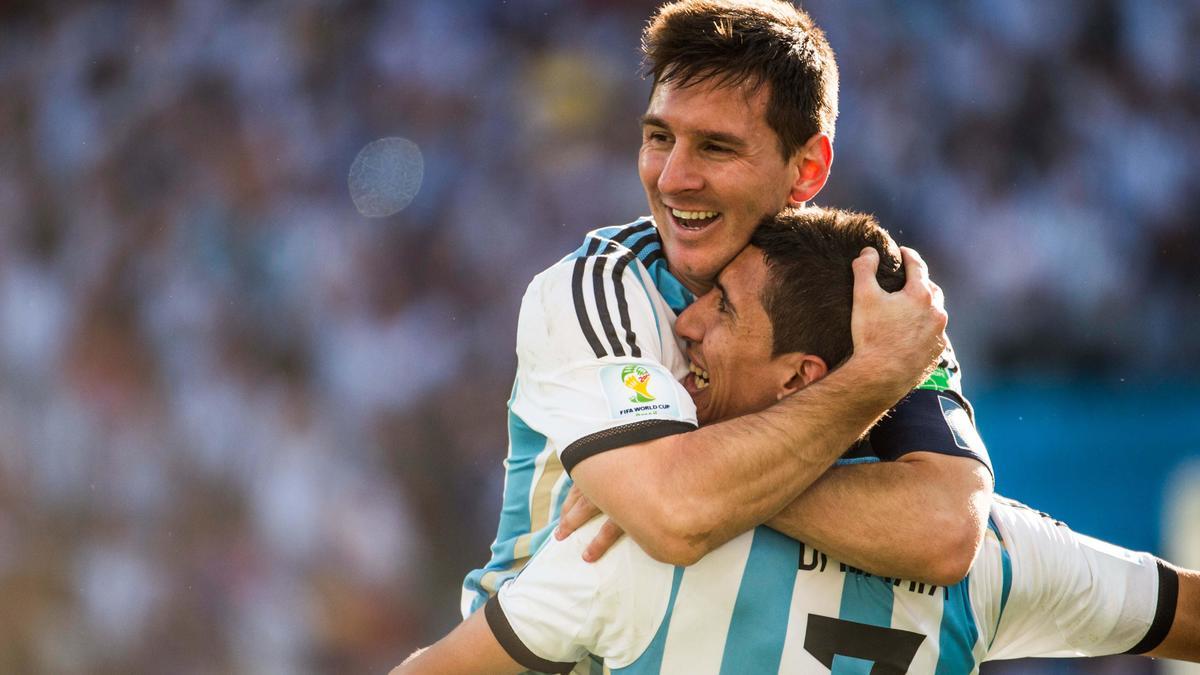 Lionel Messi & Angel Di Maria