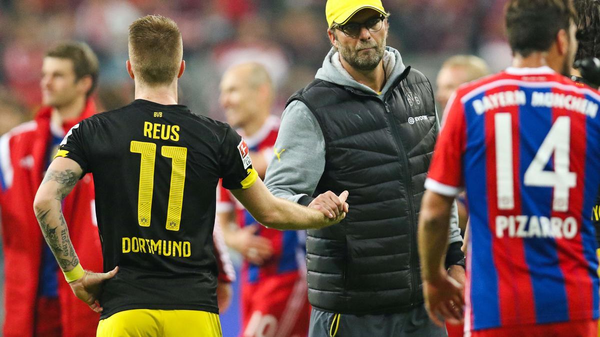 Marco Reus & Jürgen Klopp, Borussia Dortmund