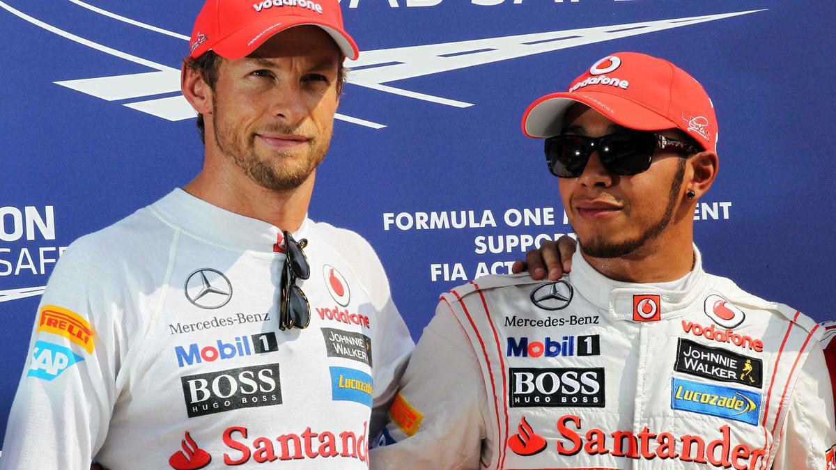 Lewis Hamilton & Jenson Button, McLaren