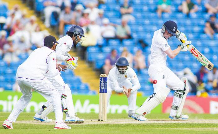 Match de cricket Angleterre - Sri Lanka, juin 2014