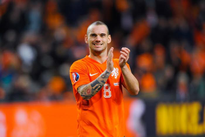 Wesley Sneijder, Pays-Bas