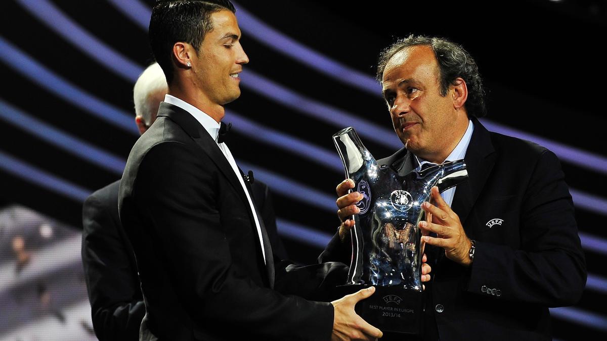 Platini évoque son malaise avec Cristiano Ronaldo