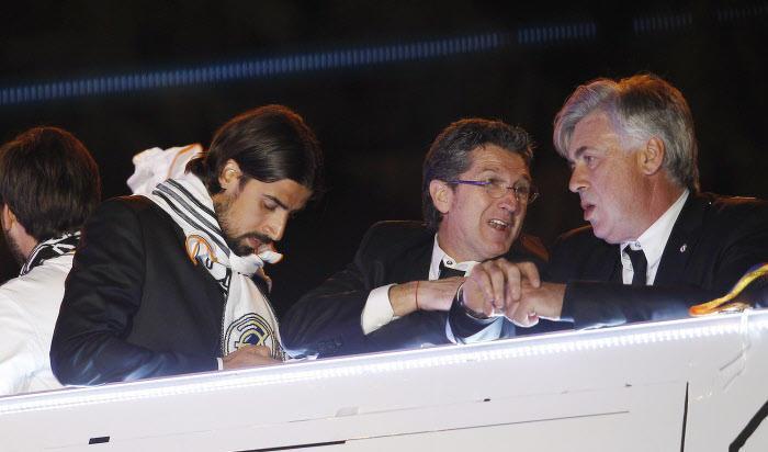 mercato real madrid bayern munich ancelotti prend clairement position pour le cas khedira