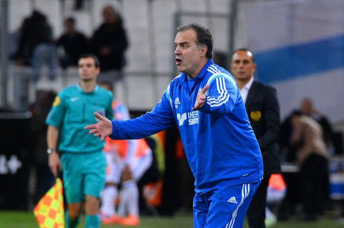 Marcelo Bielsa avec l'OM
