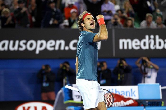 Roger Federer, Open d'Australie 2014