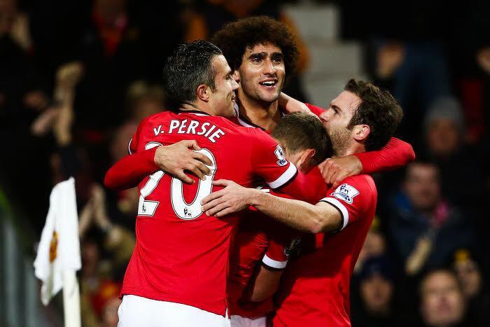 manchester United, Marouane Fellaini, Juan Mata, Robin Van Persie