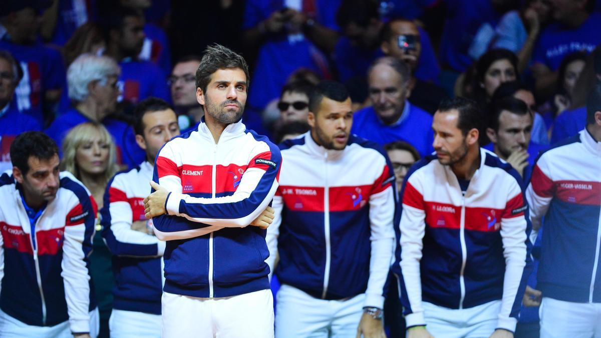 Tennis - Coupe Davis : Yannick Noah, Arnaud Cl�ment? La mise au point de la F�d�ration !