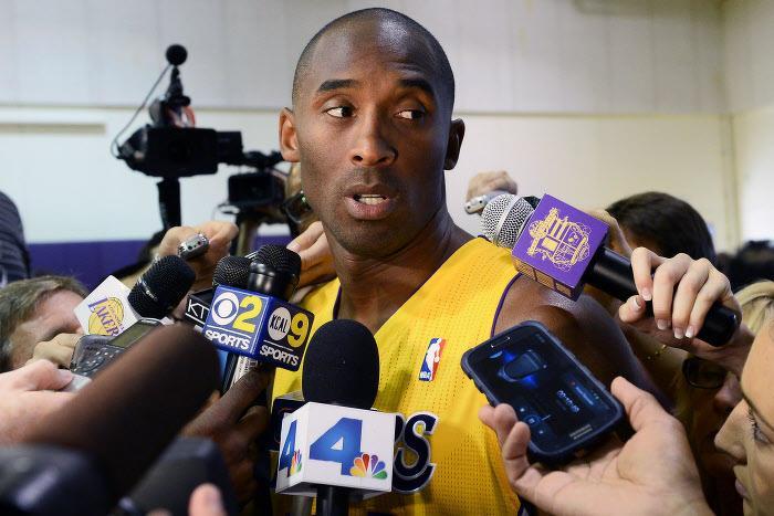 Kobe Bryant avec les L.A. Lakers