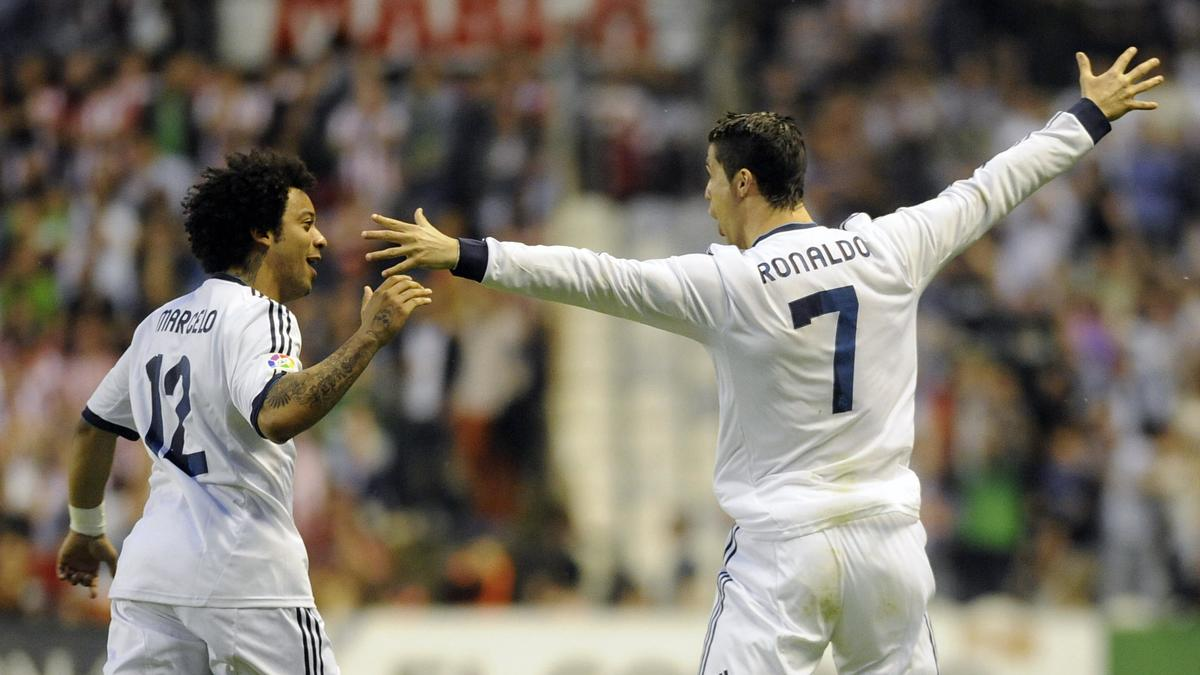 Marcelo & Cristiano Ronaldo, Real Madrid