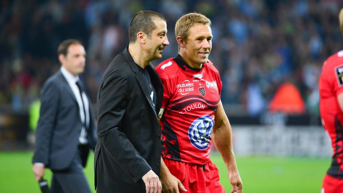 Mourad Boudjellal & Jonny Wilkinson, RC Toulon