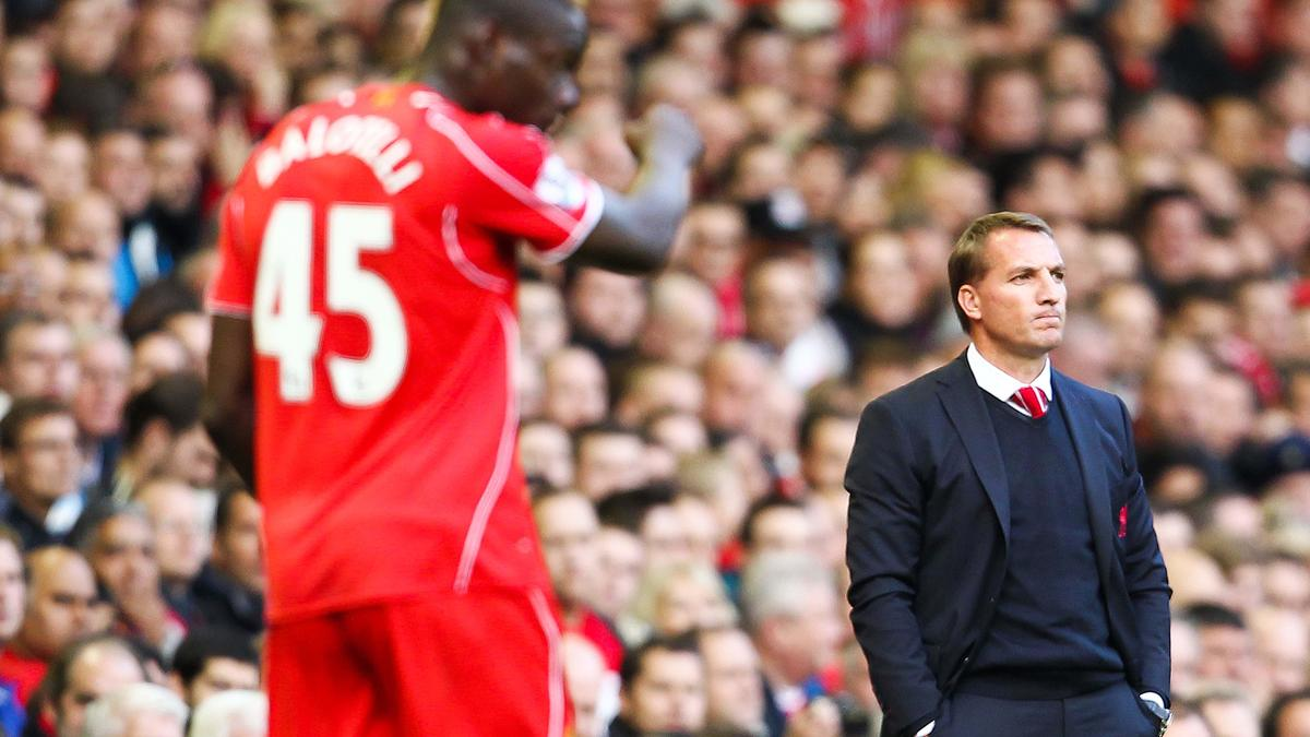 Mario Balotelli & Brendan Rodgers, Liverpool